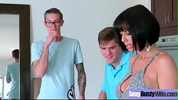 (Veronica Avluv) Sexy Busty Housewife In Hardcore Sex Tape clip-30