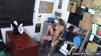 Havana Blues big tis bounces as she rides the officers dick