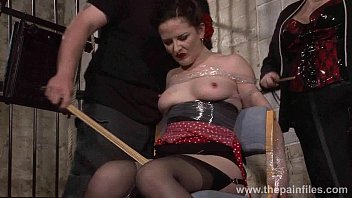 Bondae electroshock whp tgp Submissive caroline pierces spanking and double domination of plastic tied bonda