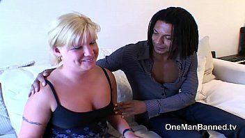 Mature blone housewifes first time with black dick