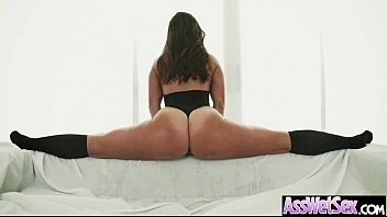 Anal sexy ass Sexy girl kelsi monroe with big curvy ass get oiled and anal nailed clip-18