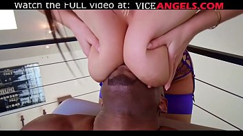 Gorgeous big ass Angela White takes interracial anal (Prince Yahshua , Angela White)