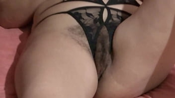 ARDIENTES 69 - EXHIBITING HER HAIRY PUSSY WELL OPEN MY BEAUTIFUL HOT WIFE - ARDIENTES69 10 min