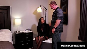 Busty Cougar Maxine X Dark Dicked By A Big Black Cock!