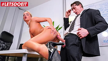 LETSDOEIT - (Victoria Pure & Jason Steel) Hot Czech MILF Boss Tease And Fucks At The Office With One Of Her Colleagues