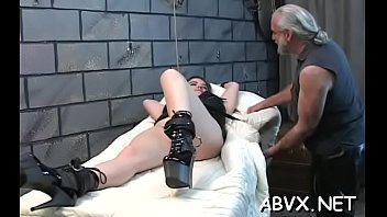 Wonderful girlfriend is playing with her tits and gash