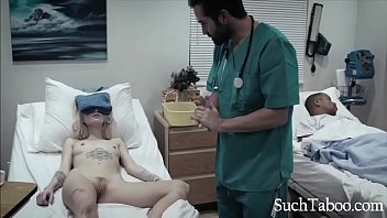 Perverted Doctor Gives Hot Teen Patient A Vaginal Probe - Arya Fae