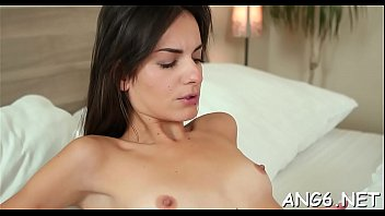 Meat works magic in exquisite barely legal girlie Nikola N's box