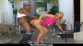 MomsWithBoys - Young Blonde MILF Hammered With A Big Black Cock