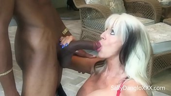 Banging My Buddies MOM  #interracial #MILF  Sally D'angelo