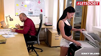 KINKY INLAWS - #Nicole Love #Bella Scaris - Teen Stepdaughter Fucked Hard By Daddy And Secretary