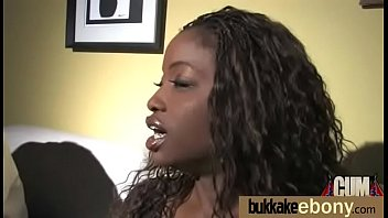 DP with german ebony bukkake teen 23