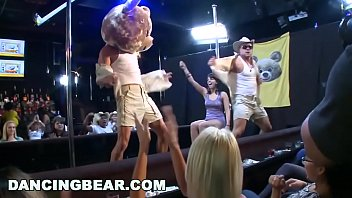 DANCING BEARMale Strippers Sling Dick For Horny Ladies At Wild CFNM Party