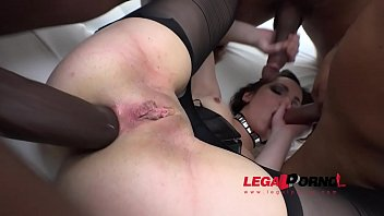Susie Q got ass banged by 3 guys with huge cocks & DP'ed RS067 65 sec