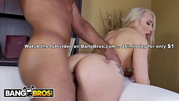 BANGBROS - Interracial Sex On Ass Parade With Blonde PAWG AJ Applegate