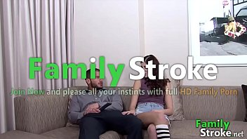 Hungry Teen Forces Daddy - FamilyStroke.net
