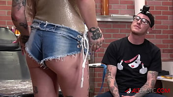 Extreme Inked up Hottie Sully Savage has her Clit Tattooed thumbnail