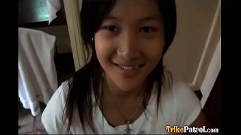 Very Asian Super Cute and innocent looking Pinay babe sucks and fucks like a pro ft. Irish