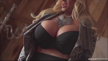 Kelly Madisons World Class Tits Shake While She Makes Herself Cum