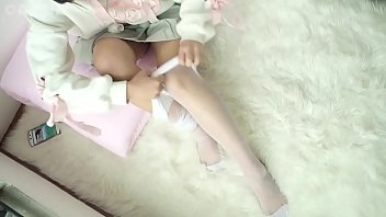 Young Beauty In See-Through White Pantyhose, Kawaiilegs