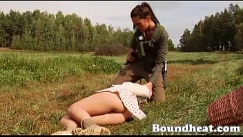 The sex slave trade - Lesbian slave huntress part one new