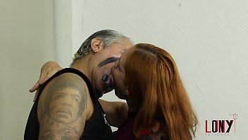 Hot fetish kisses Gorgeous Manuela Albertini kisses Director Sub Lony by LonY Fetiches