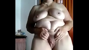 Rich lady shows me her meat