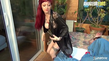 AMATEUR EURO - Hot French Babe Eva Lange Knows To Handle Big Dick 10 min