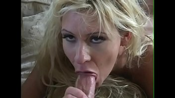 Juicy blonde cutie Casey Pink with big knockers is fond of playing cue sports and getting some brown