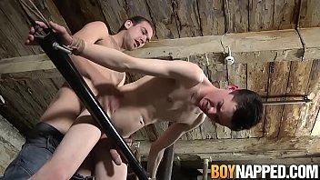 Gay adult with aspergers Restrained twink banged and sprayed with wax by his master