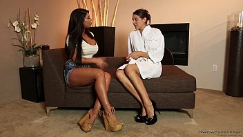 Sadie Holmes introduces nurumassage to August Taylor