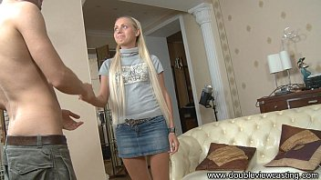 DOUBLEVIEWCASTING.COM - CHIARA ADMIRES THROBBING DICK