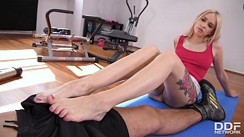 digital playground full movies - kickboxing and foot fucking are milf arteya's favorite workouts at the gym thumbnail