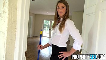 PropertySex - House flipping real estate agent fucks her handyman thumbnail