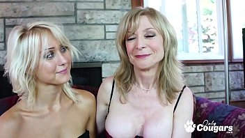 Mature Babe Nina Hartley Gives Natasha Voya A Spanking
