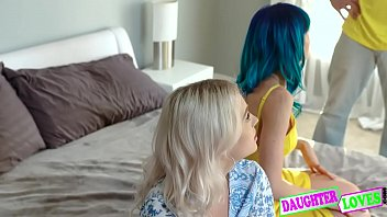 Jewelz Blu, Kate Bloom In Secret party Fun With Swap Dads