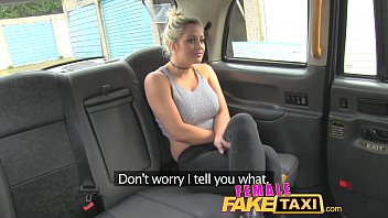 Female Fake Taxi Finger-fucking a fit babe
