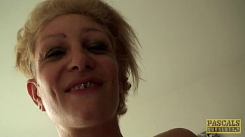 Skanky gf tgp Inked uk skank railed rough in ass by maledom