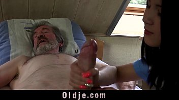 Lady naked man - Teen nurse lady dee fuck treatment for sick old patient