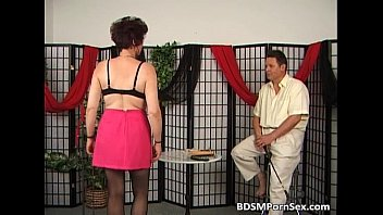 Mature couple playing BDSM games | Video Make Love