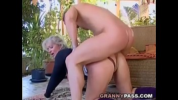 Uncebsored mature asian women porn dvd Busty blonde granny discovers young cock