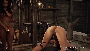Watch Me Teach Me: Strap-On And Fingering With Busty Slave