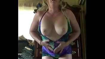 Hot Milf Mommy Looks So Hot taking Off Her Dress