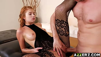 Seductive masseuse Arya Faye rubs that huge cock