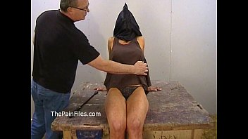 Amateur bdsm of busty Danii Black in private dungeon whipping and fierce punishm