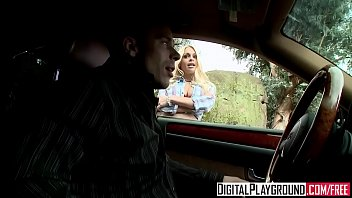 Bad girl (Jesse Jane) gets picked up on the side of the road - Digital Playground