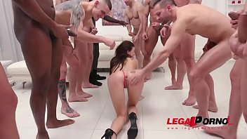 Kate Rich assfucked by 1, 2, 3, 4 guys and then gangbanged by all 10 of them SZ2390