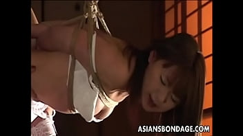 Two Asian Sluts H. On Ropes As They Are Bdsmed