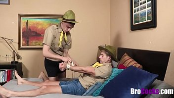 Brother Scouts For His Elder Bro's Dick