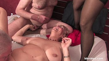 Bbvideo.com Chesty german grannies fucks in foursome thumbnail